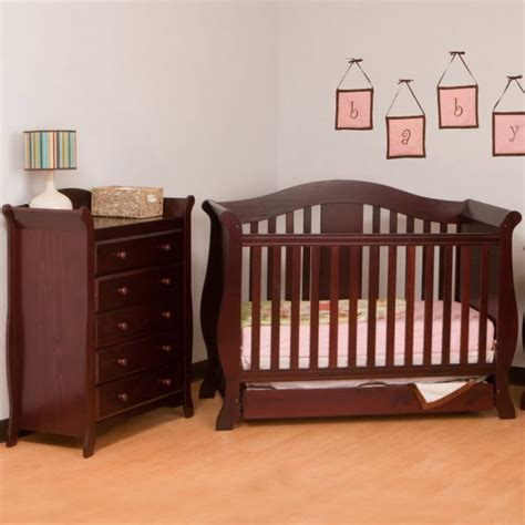 crib with drawers bedroom get a simple yet practical storage for your baby