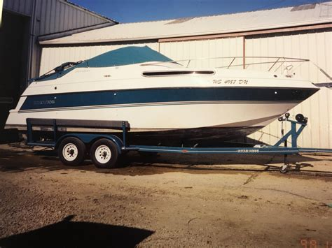 Four Winns Boat Canvas by 1994 Used Four Winns 258 Vista Cruiser Boat For Sale