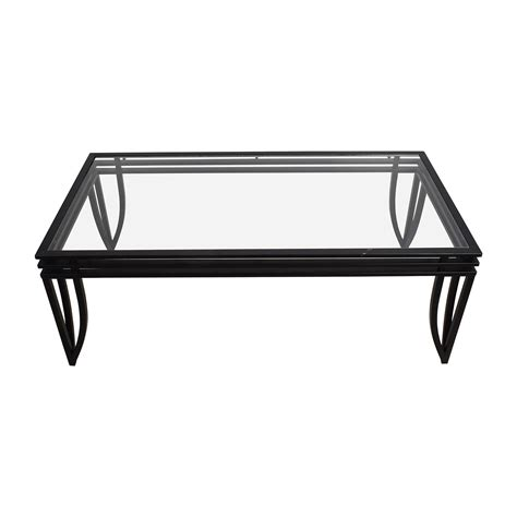 Your coffee table is the center of your room. 77% OFF - Ashley Furniture Ashley Furniture Rectangular ...