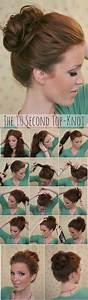 Wonderful 13 Simple Bun Hairstyles