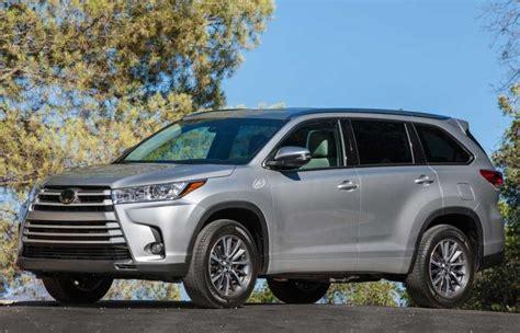 2018 Toyota Highlander Release Date, Price, Interior