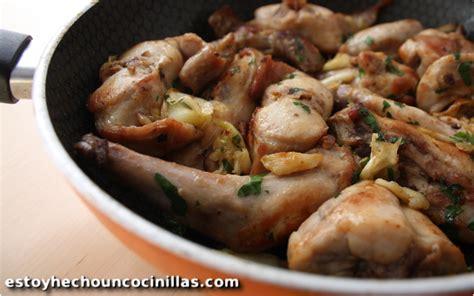 lapin cuisine recette de lapin à l ail cuisine espagnole