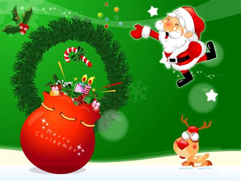 Santa Claus Animated Wallpaper - mixentry santa claus holidays wallpapers