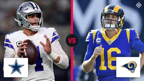 cowboys  rams time tv channel    nfc