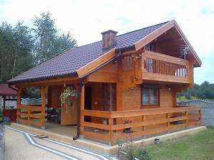 Montované zateplené chaty