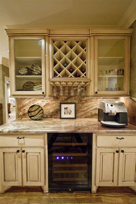Cabinet Wine Rack Ideas by Dazzling Cabinet Wine Glass Rack In Kitchen Eclectic