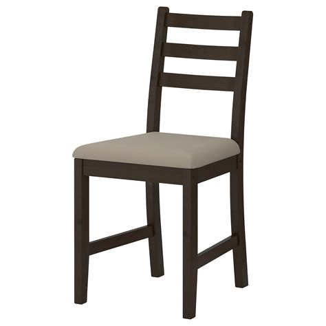 chaises ikéa lerhamn chair black brown ramna beige ikea