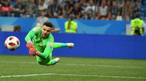 Fifa World Cup Croatia Denmark Subasic Saves