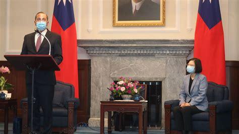 taiwan la presidente tsai ing wen recoit  ministre