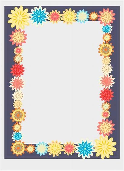 Border Frame Colorful Frames Clipart Transparent Cartoons