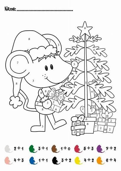 Christmas Number Games Printable Addition Adults