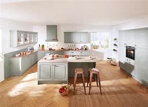 Küchen Ideen Landhaus : gr ne k chen k chentrends in gr n k che co ~ Heinz-duthel.com Haus und Dekorationen