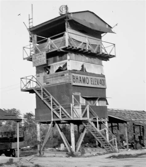 Bhamo Control Tower, Late 1940s