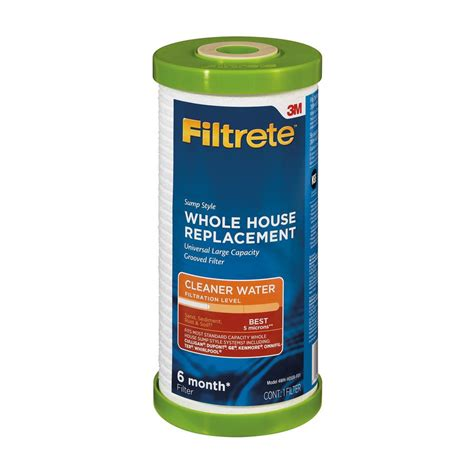 Filtrete Large Capacity Whole House PreFiltration System