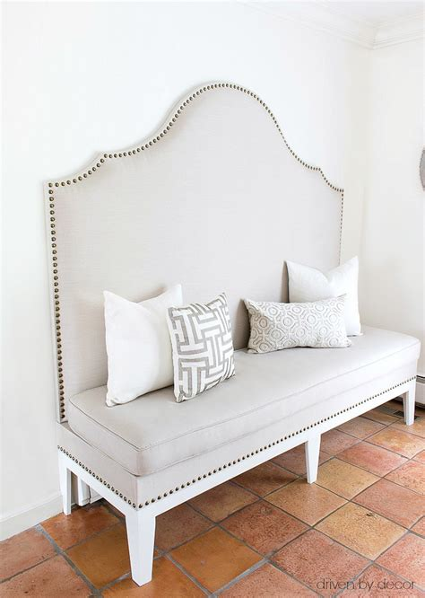 7 Steps To A Diy Upholstered Kitchen Banquette