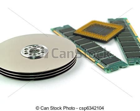 Stock Photo Computer Parts Such Circuit Boards