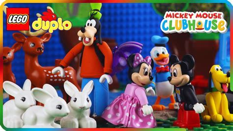 LEGO Mickey Mouse Clubhouse BBQ PARTY AT DONALD DUCK HOUSE