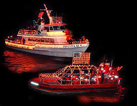 newport lights cruise newport oregon bay lights up with boat parade