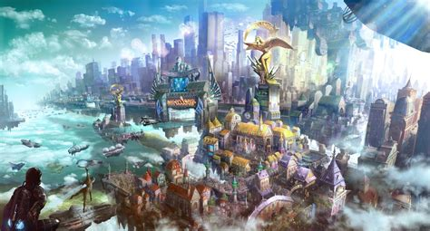 Anime Island Bs Bioshock Infinite Columbia Wallpaper Wallpapersafari