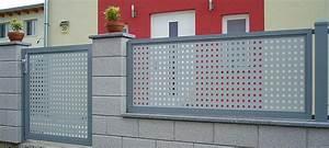 zaunsystem aluminium produkte alu tore aluzaune alumodell With garten planen mit balkon sichtschutz alu lochblech