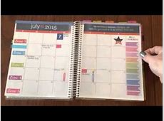 FlyLady Control Journal in my Erin Condren On The Go