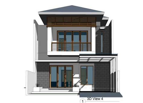 desain rumah  lantai ukuran     desain rumah