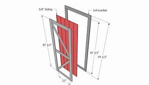 depols barn door plans With barn door blueprints