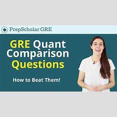 Gre Expert Tips & Tricks  How To Beat Gre Quantitative Comparison Youtube