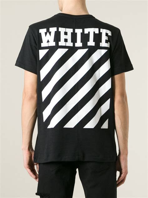 lyst white c o virgil abloh caravaggio print t shirt
