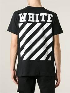 86e9adea9ee647 lyst off white c o virgil abloh caravaggio print t shirt in black for men