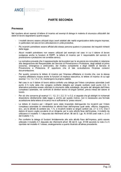 Nomina Rspp Interno 179 Ance Responsabilita Sicurezza Ruoli Delega