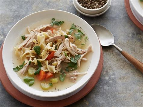 Slow Cooker Chicken Noodle Soup Recipe  Food Network