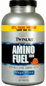 Twinlab Mega Mass Amino Fuel 1000 60 Tablets
