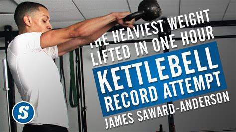 heaviest weight lifted record kettlebell swing