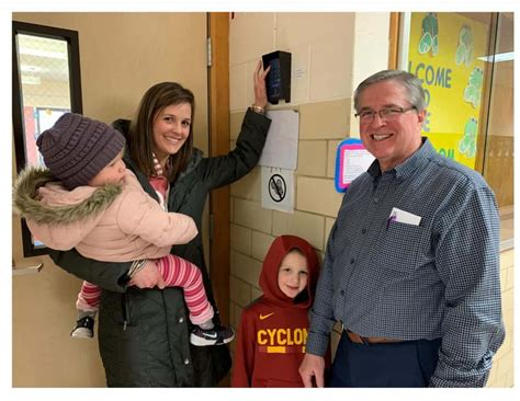Grant Funds Increase Security And Parent Accessibility At