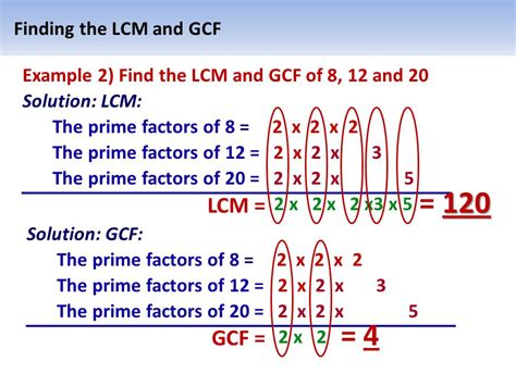 Least Common Multiple (lcm) Of  Ppt Video Online Download