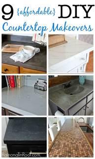cheap bathroom countertop ideas 9 diy countertop makeovers