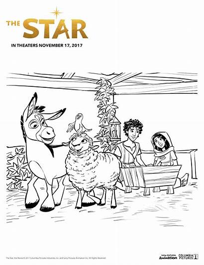 Coloring Star Sony Animation Pages Sheet Momstart