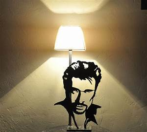 Métal à La Découpe : lampe silhouette johnny hallyday en m tal d coup luminaires par blandin stuff metal ~ Dode.kayakingforconservation.com Idées de Décoration
