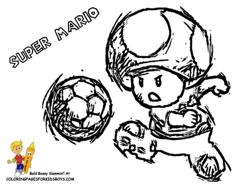 Mario Goomba Coloring Pages
