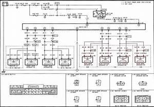 Mazda Protege 1995 Fuse Box Diagram