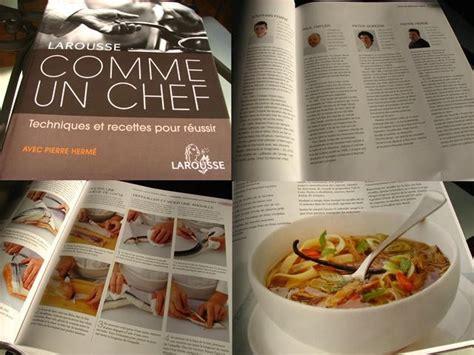 livre cuisine chef comme un chef chez lorette la table de l
