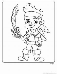 Free Printable Jake And The Neverland Pirates Coloring ...