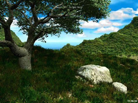 living landscape screensaver  animated