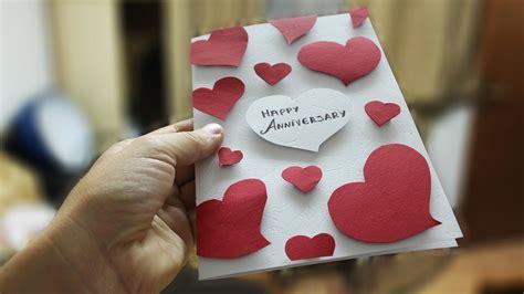 greeting cards diy anniversary card ideas