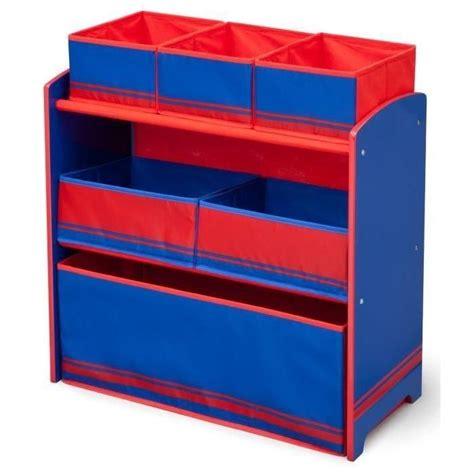 meuble rangement chambre garcon delta children meuble de rangement enfant jouets 6 bacs