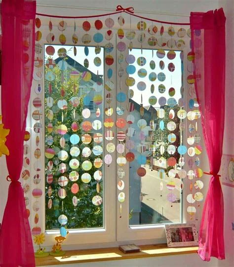 Deko Ideen Kinderzimmer Fenster by Vorhang Aus Transparentpapier Ideen Curtains Home