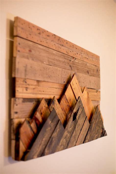 wooden wall decor art finds    add rustic beauty   room