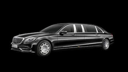 All of the optional driving. Rare Look At The 2019 Mercedes-Maybach S600 Pullman Guard