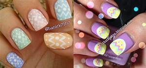 Most beautiful easter nail art design ideas
